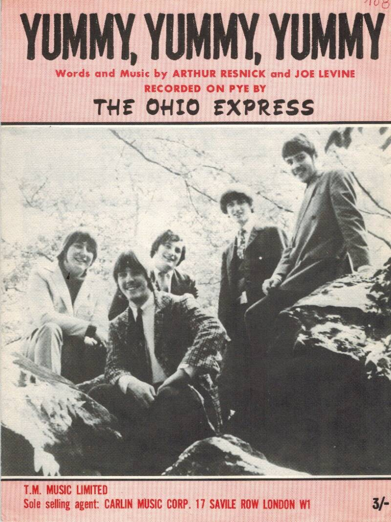 Partituur - The Ohio Express - Yummy, Yummy, Yummy