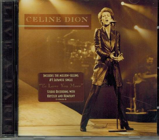 CD - Celine Dion - To love you more