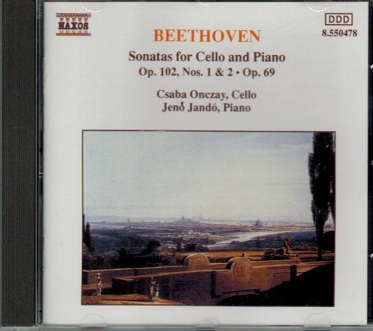 Beethoven Sonatas for Cello and piano - OP 102 NOS 1&2 OP.69