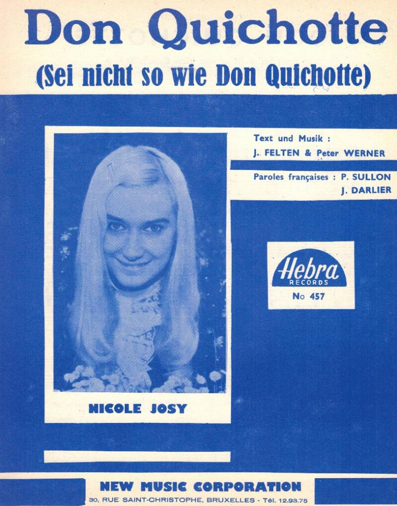 Don Quichotte (Sei nicht so wie Don Quichotte) - Nicole Josy