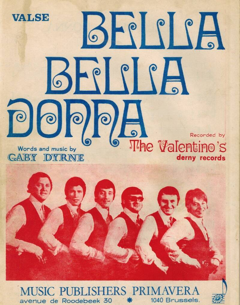 Bella bella Donna - The Valentino's
