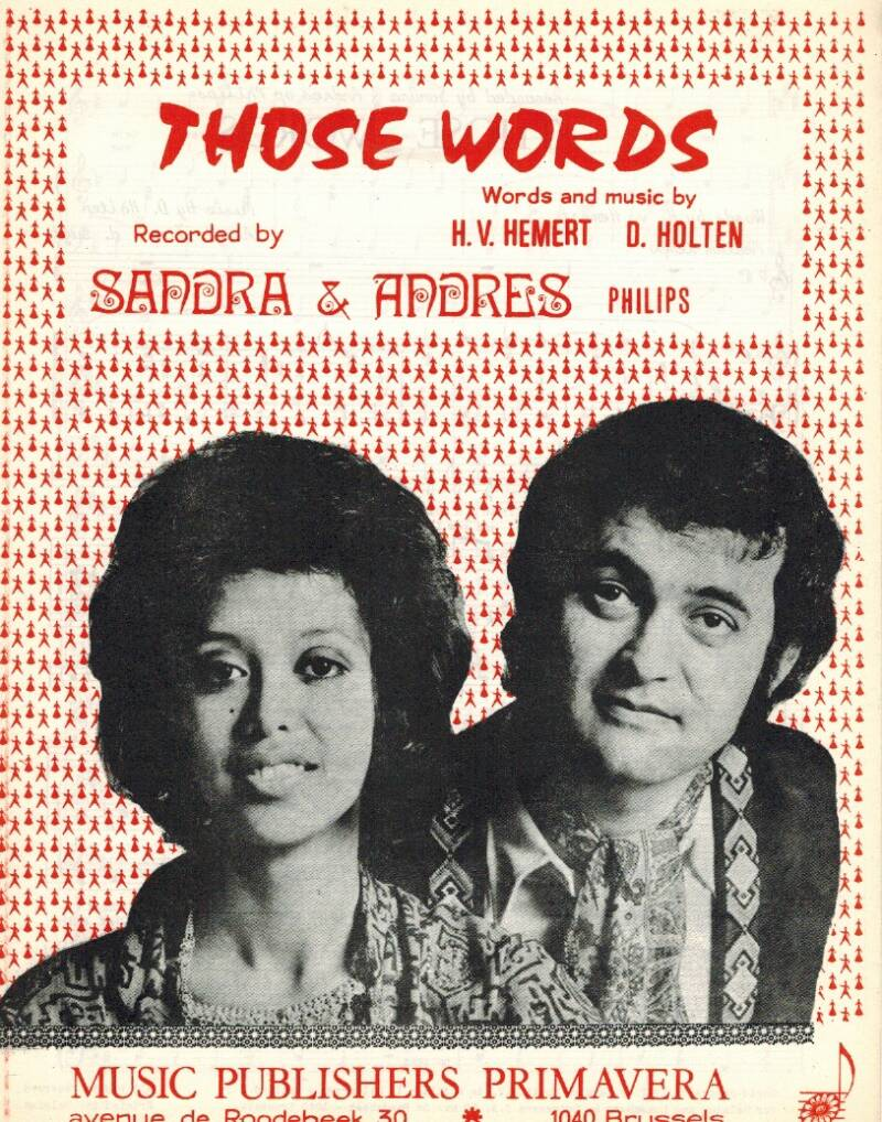Those words - Sandra & Andres