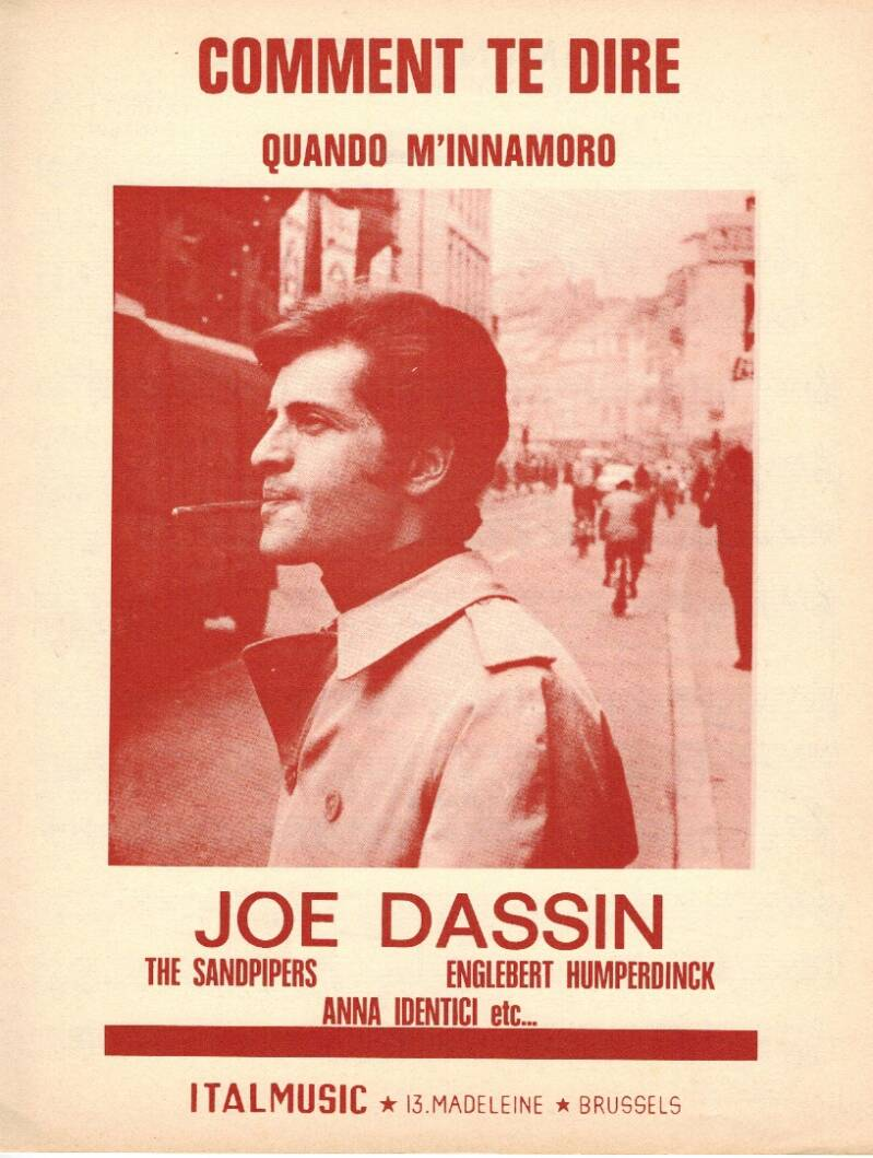Comment te dire - Joe Dassin
