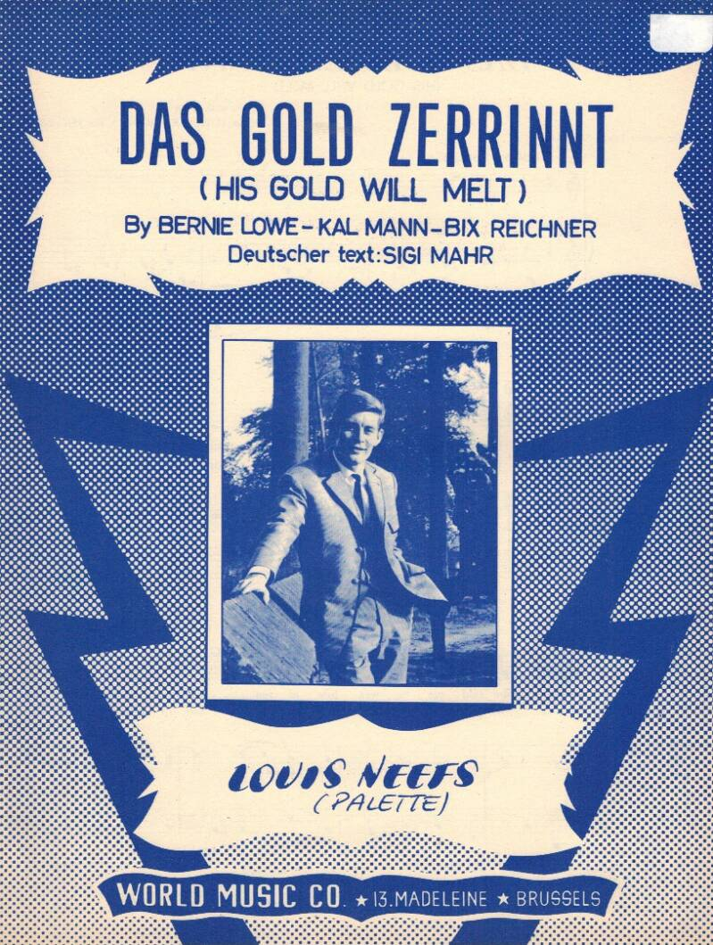 Das gold zerrinnt (His gold will melt) - Louis Neefs