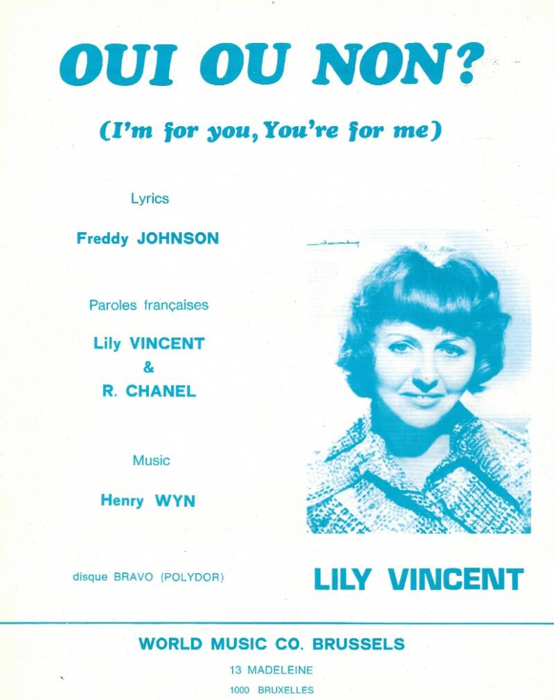 Oui ou non? (I'm for you, you're for me) - Lily Vincent