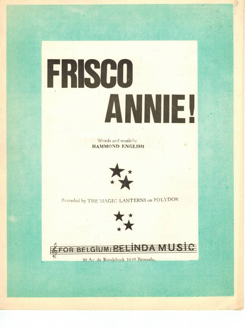 Frisco Annie! Hammond English