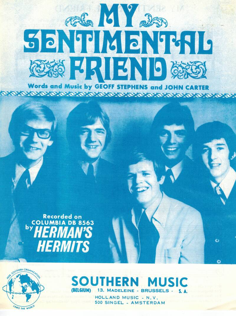 My sentimental friend - Herman's Hermits