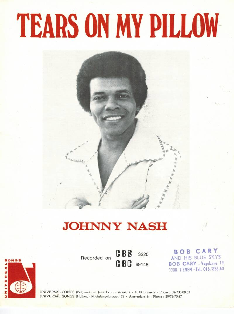 Tears on my pillow - Johnny Nash