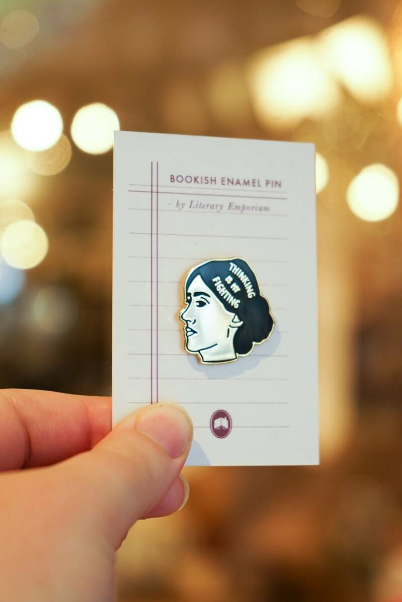 Thinking is my fighting Virginia Woolf - Pin