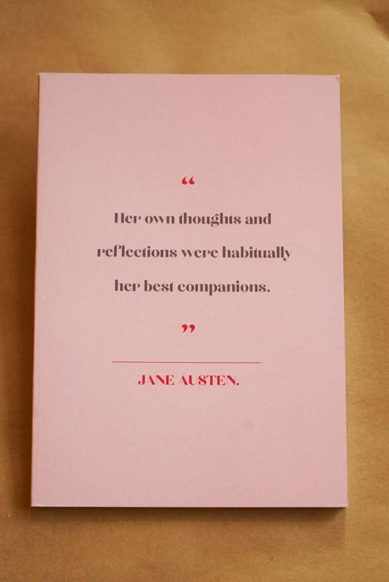 Jane Austen - Women writers pocket notebook