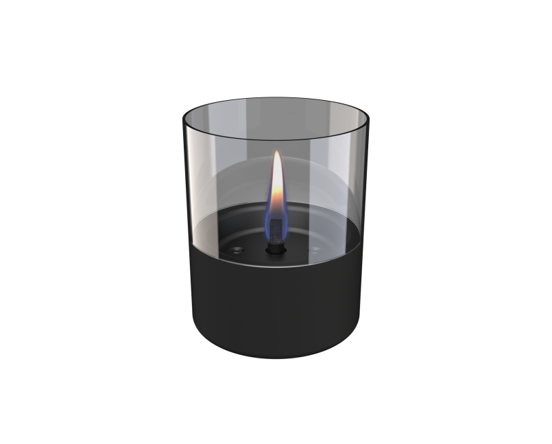 Table Fireplace Lilly | Black