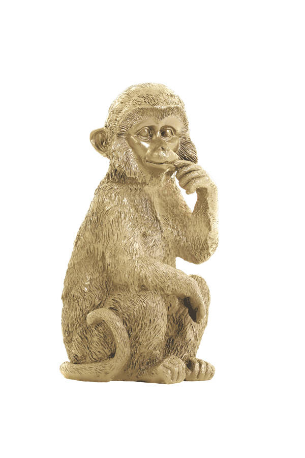 Ornament Monkey | Gold