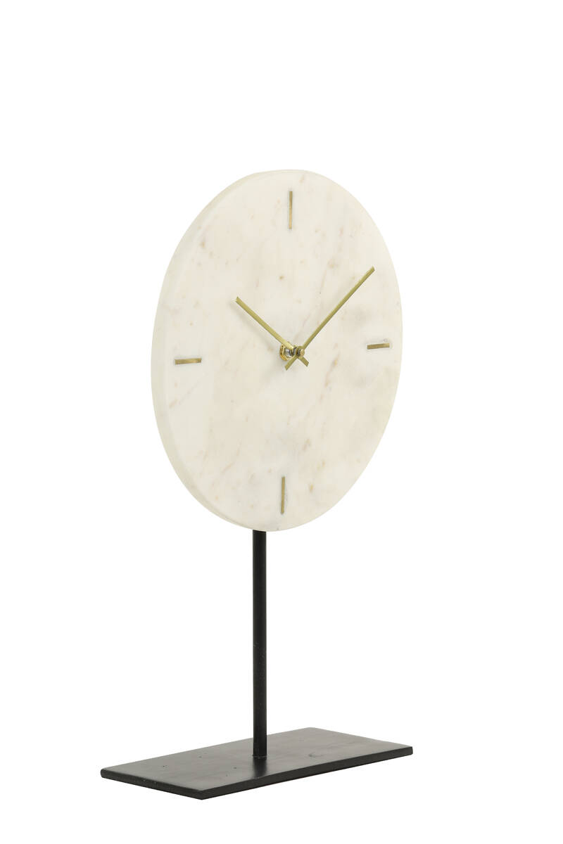 Clock on stand | Marble
