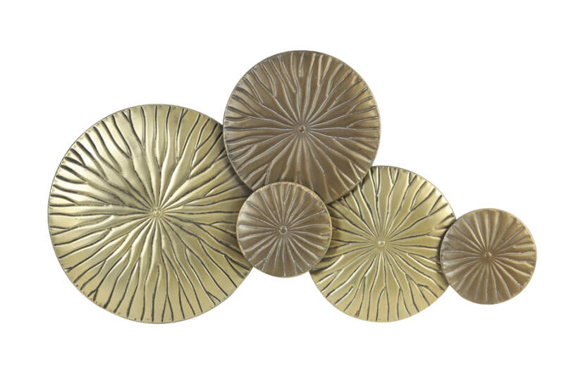 Wall Decoration | Antique Gold