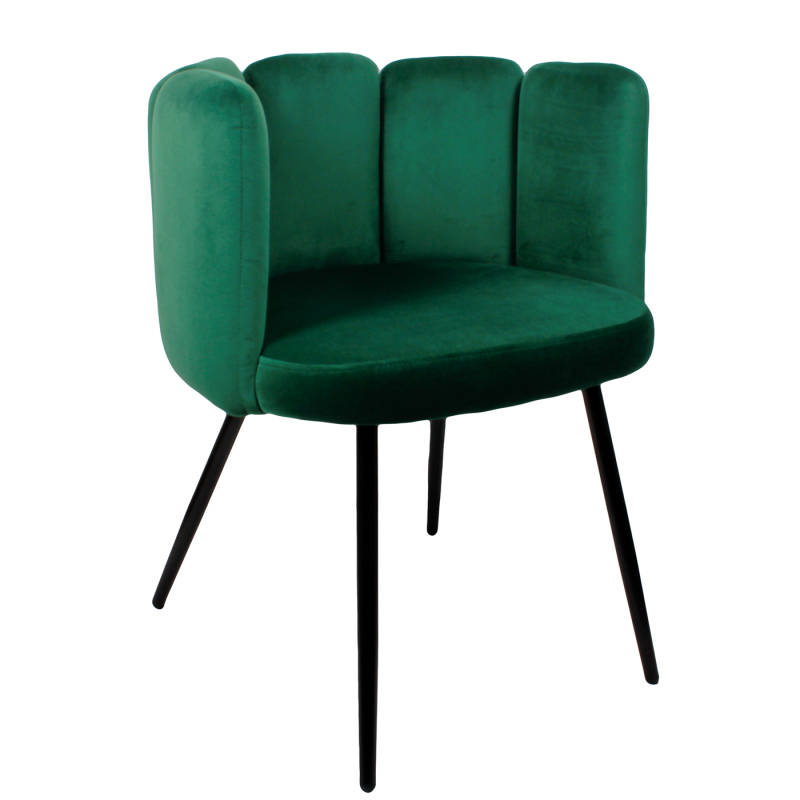 Chair | Velvet Emerald Green