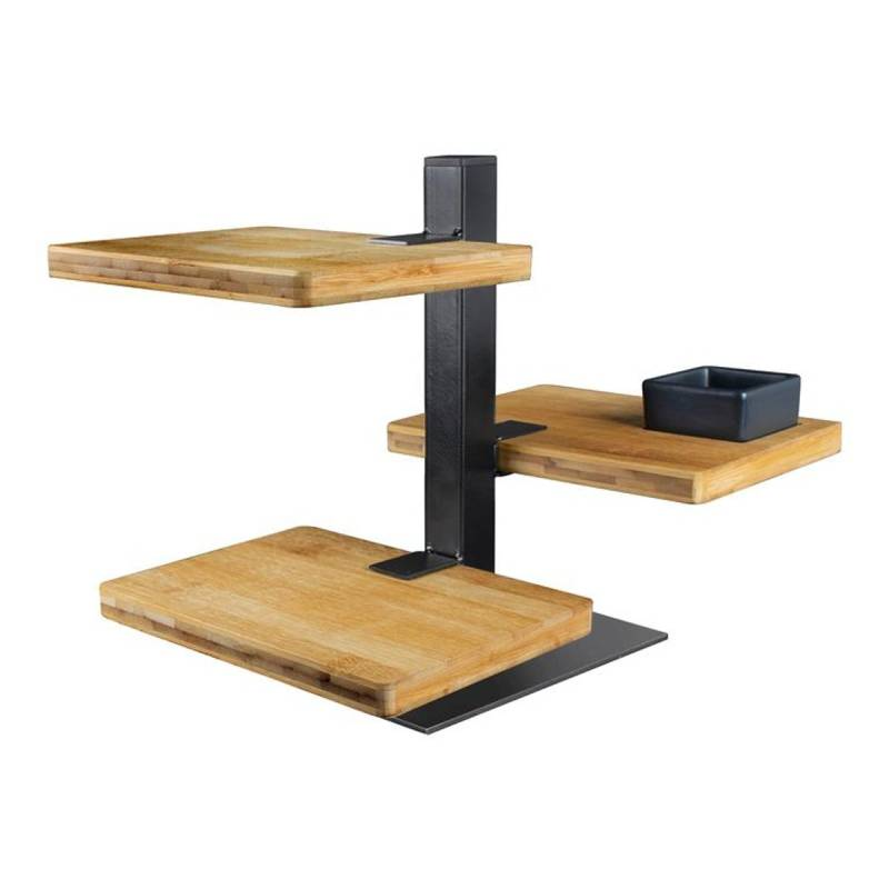 Serving Tower S | Bamboo