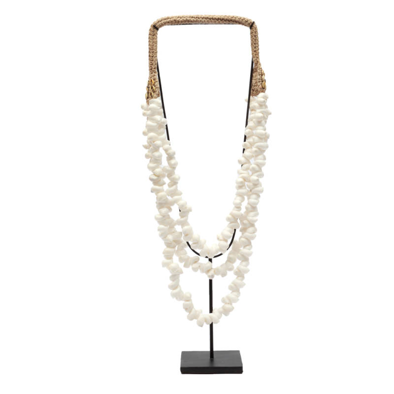 Shell Necklace | White