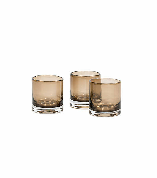 Votive with Rim | Mocha