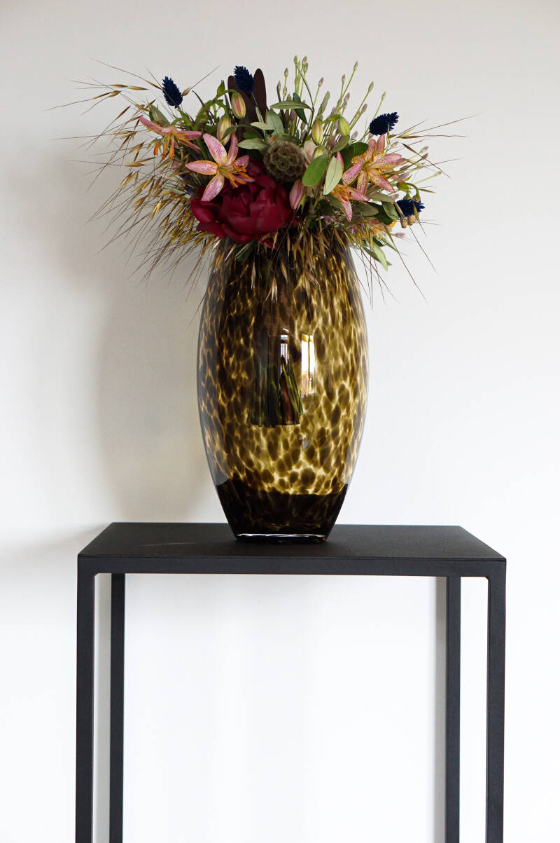Vase | Leopard Ubangi Brown