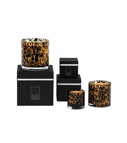 ICCI Scented Candle | Leopard Brown