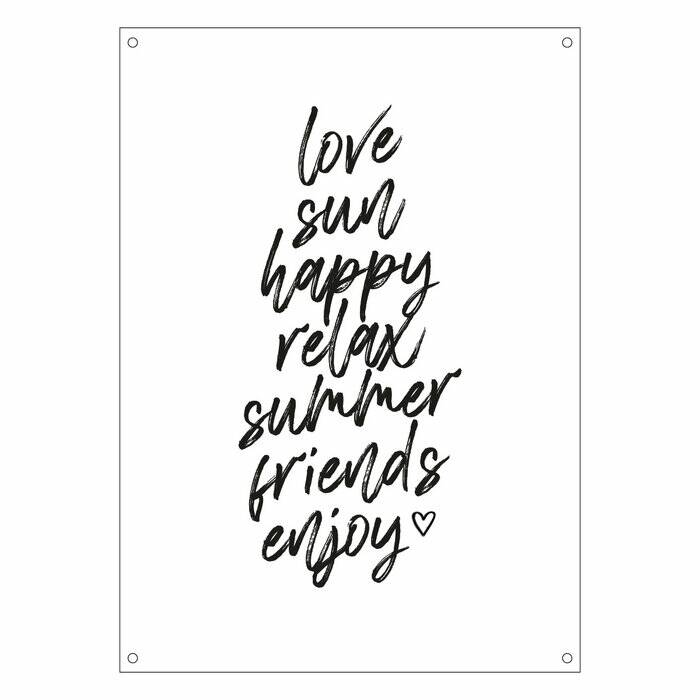 Outdoor Poster | Love-Sun-Happy-Relax