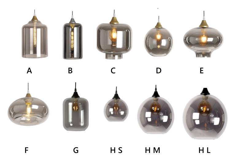 Design your own Lamp |  Glass Fume *PRE-ORDER*