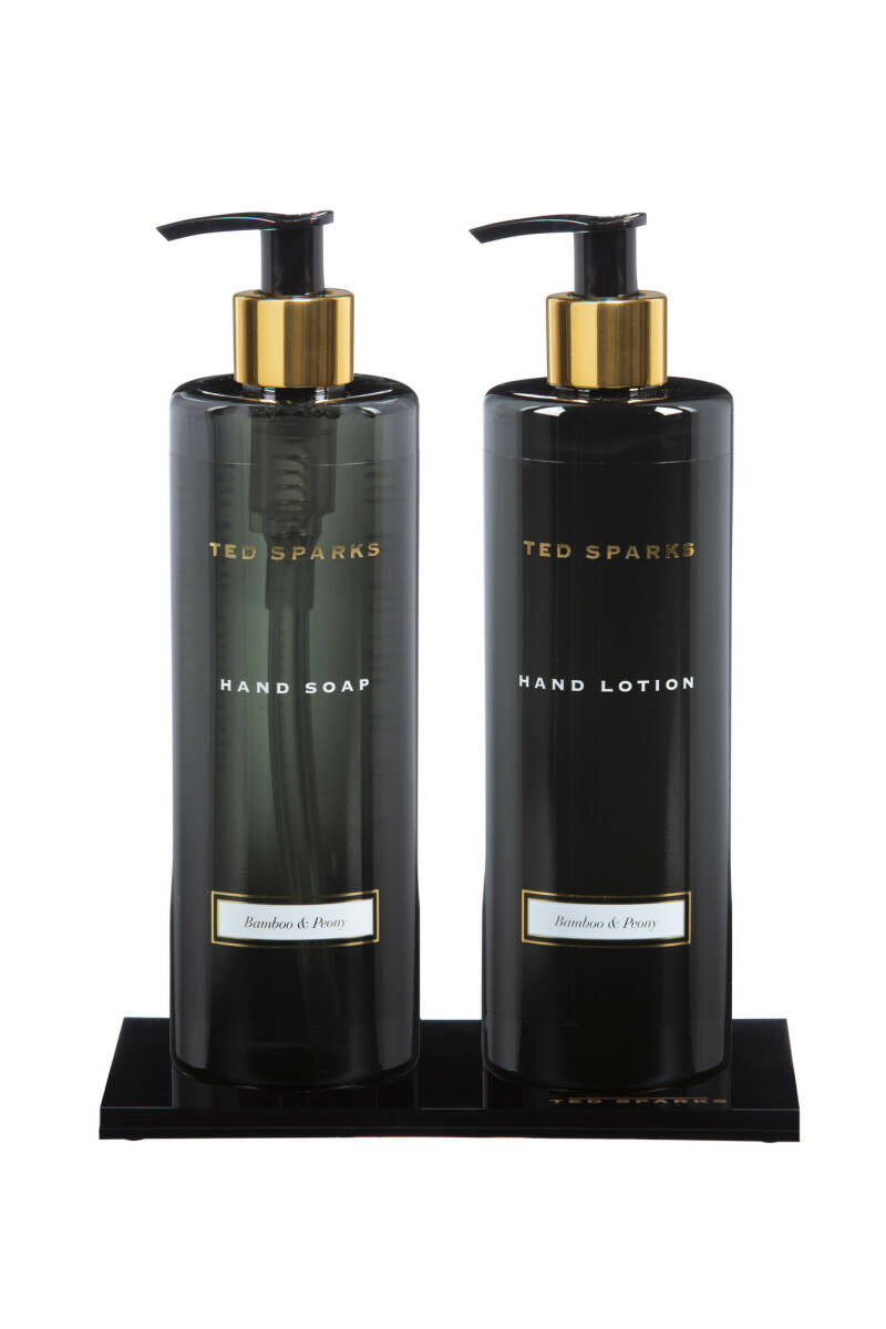 TED SPARKS - Bamboo & Peony Hand Giftset
