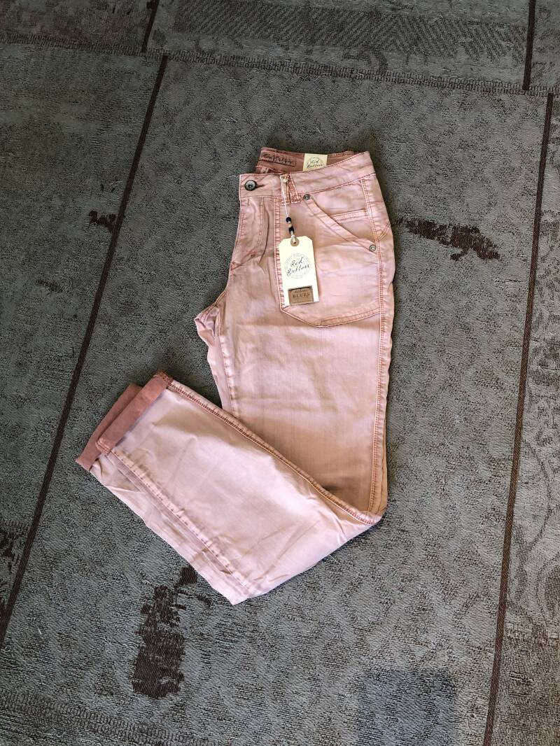 Red Button jeans oudroze