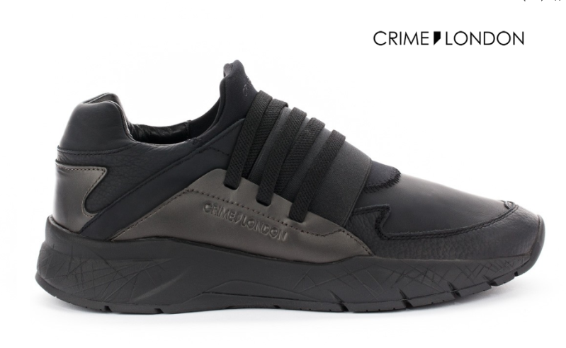 CRIME LONDON SPRINT 11920AA1 ČRNI