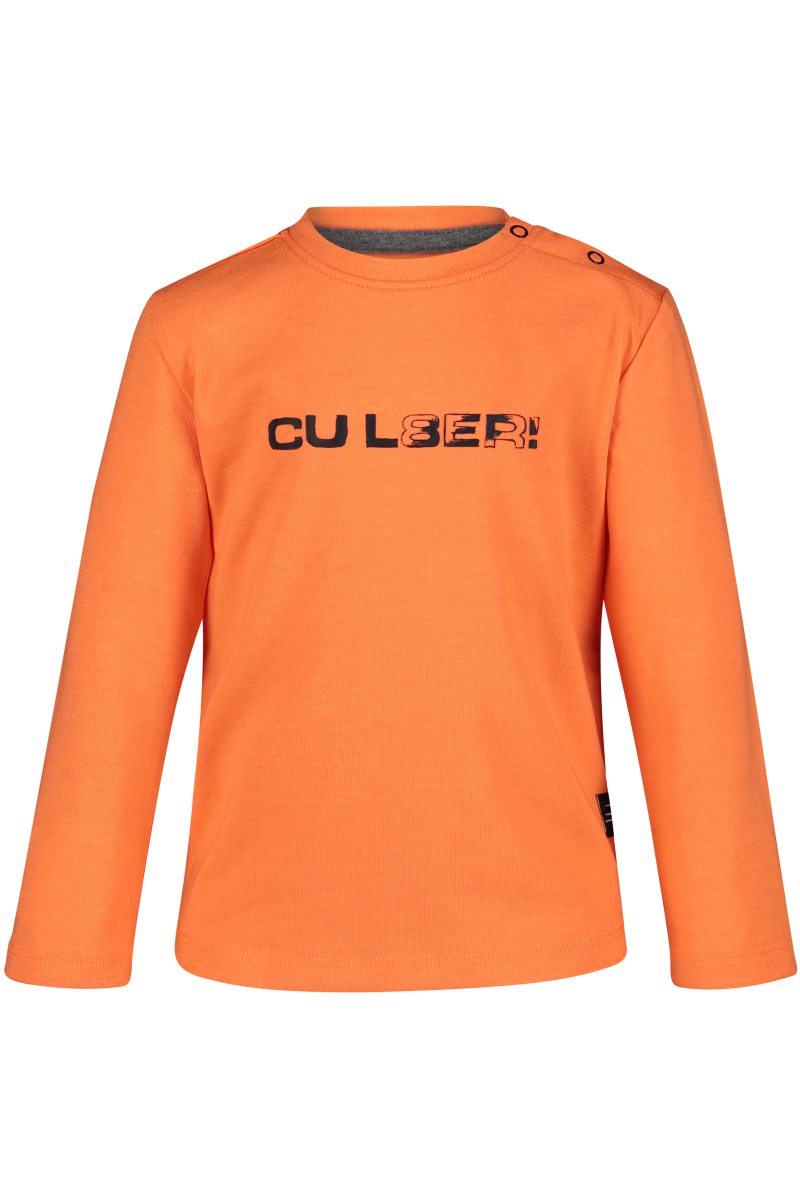 Longsleeve Claus Neon Orange