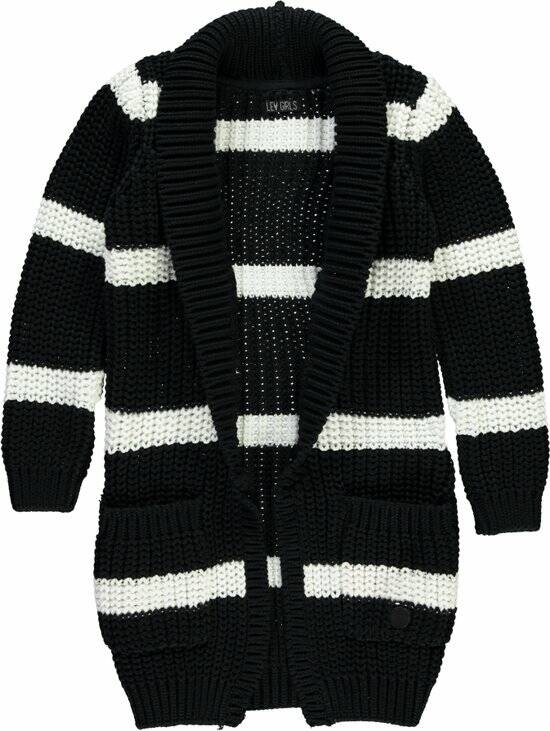 Vest Dilana Black Stripes