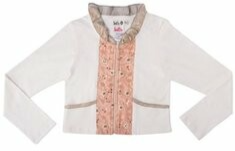 Vest Off White Soft Pink