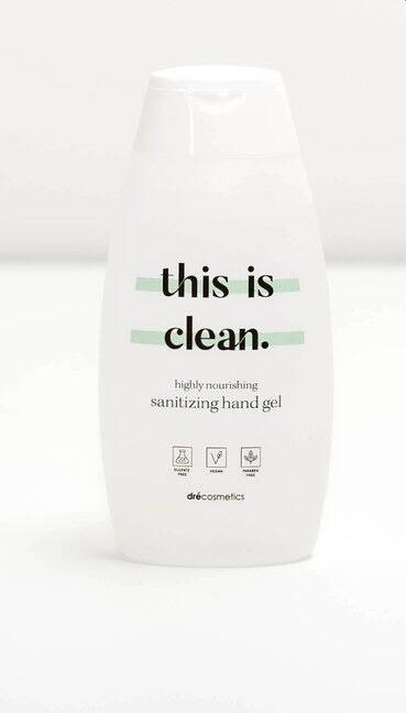 "Sanitizing Hand Gel ""this is clean"" MINI 50ml"