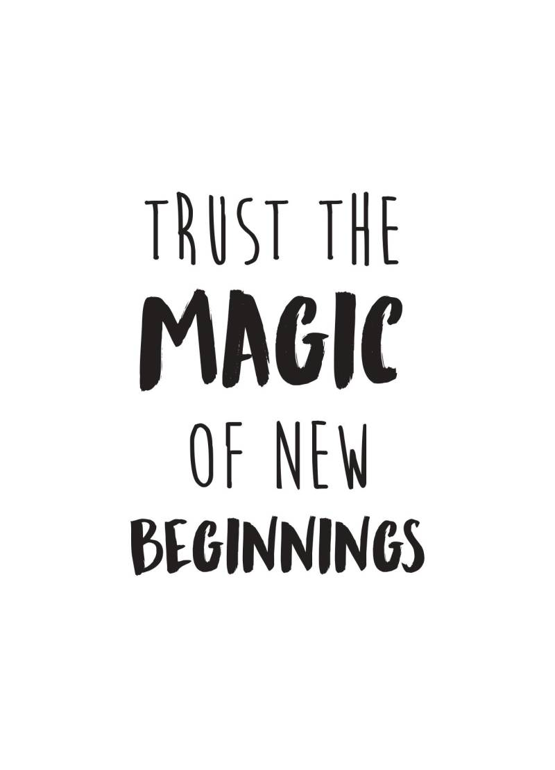 Trust the magic..