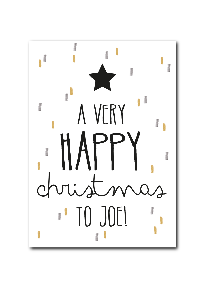 SALE : A very happy Christmas to Joe