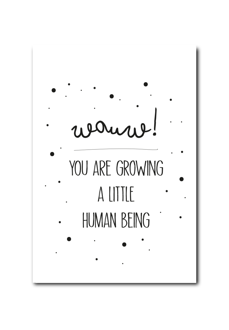 WS  : Growing a human being