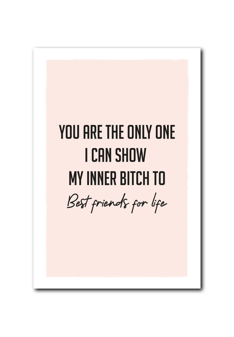 SALE : Best Friends quote