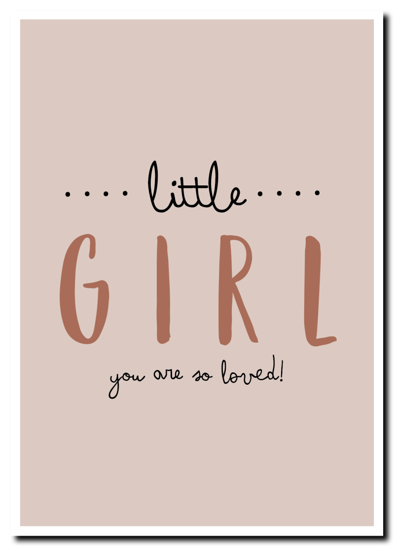 WS Q-1.2020 : Little girl, you're so loved!