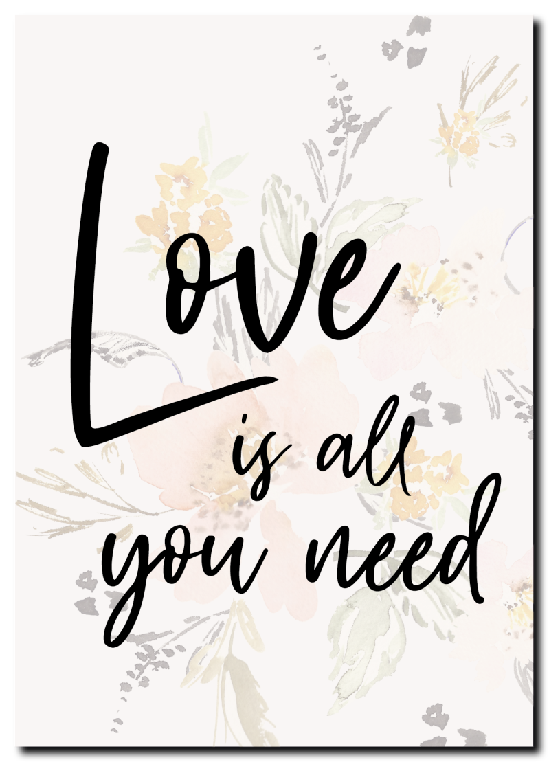 WS Q-1.2020 : Love is all you need