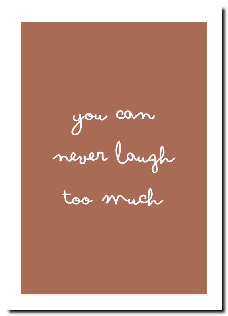 WS Q-1.2020 : You can never laugh too much