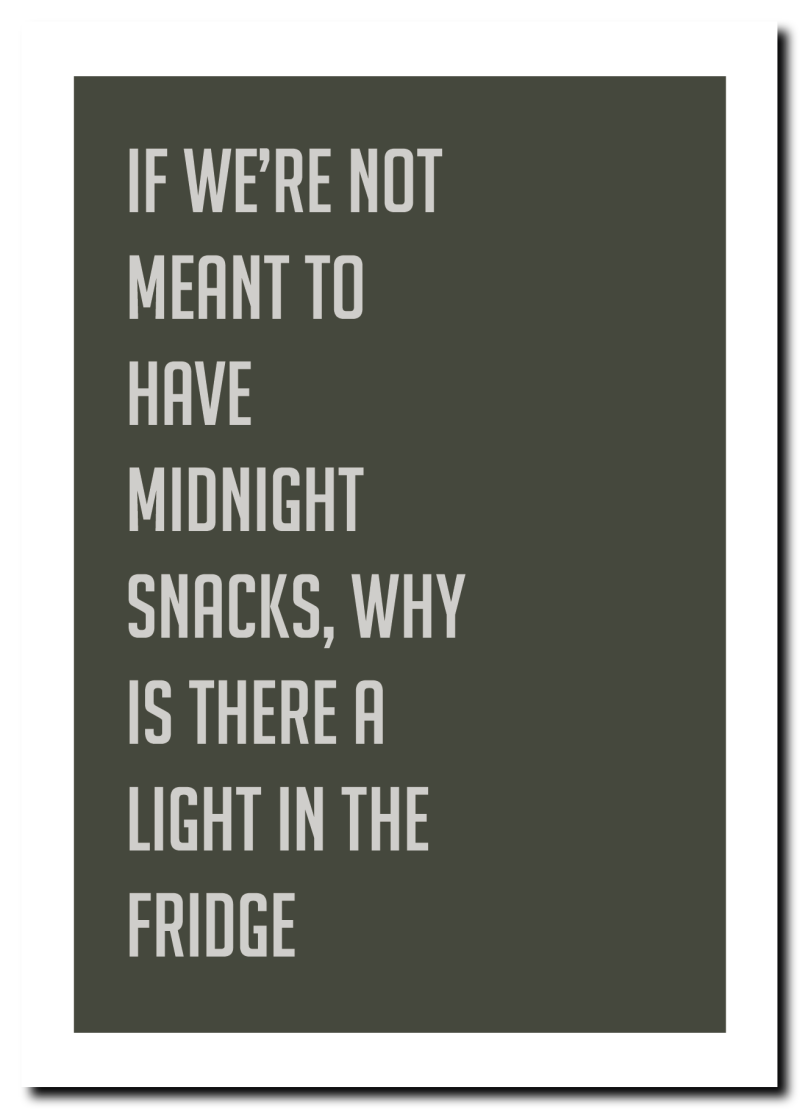 WS Q-1.2020 : Quote midnight snacks