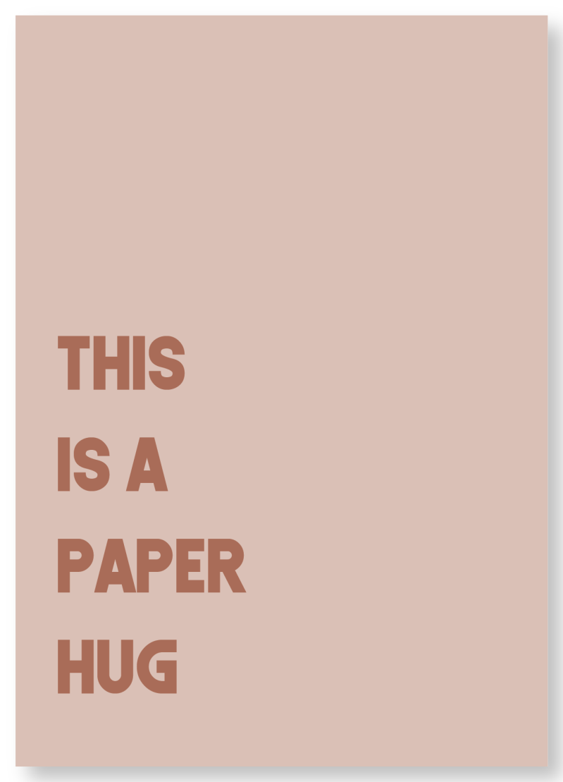 WS Q-3.2020 : This is a paper hug