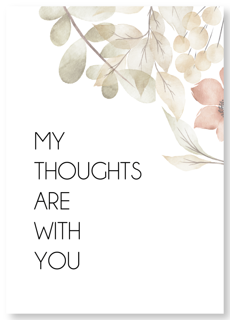 WS Q-3.2020 : My thoughts are with you