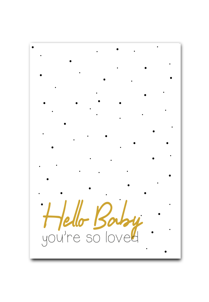 WS  Q-3: Hello baby, you're so loved