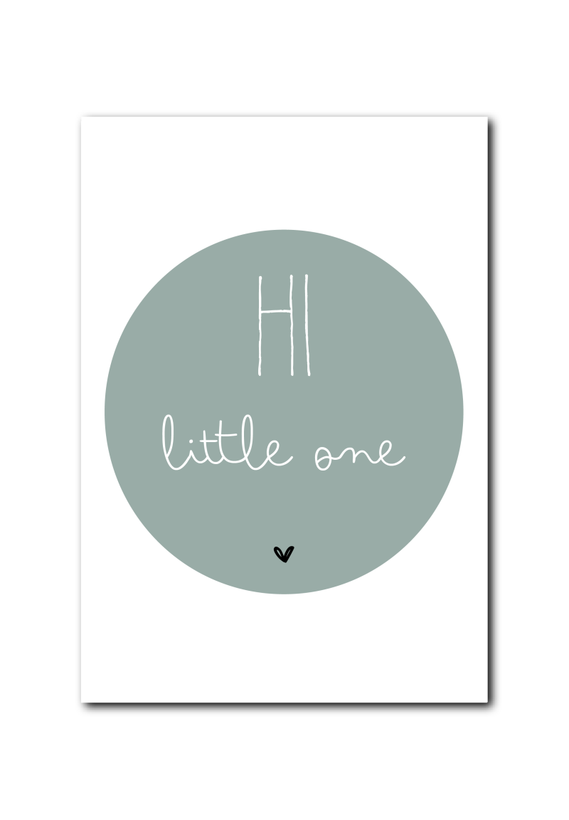 WS  : Hi little one