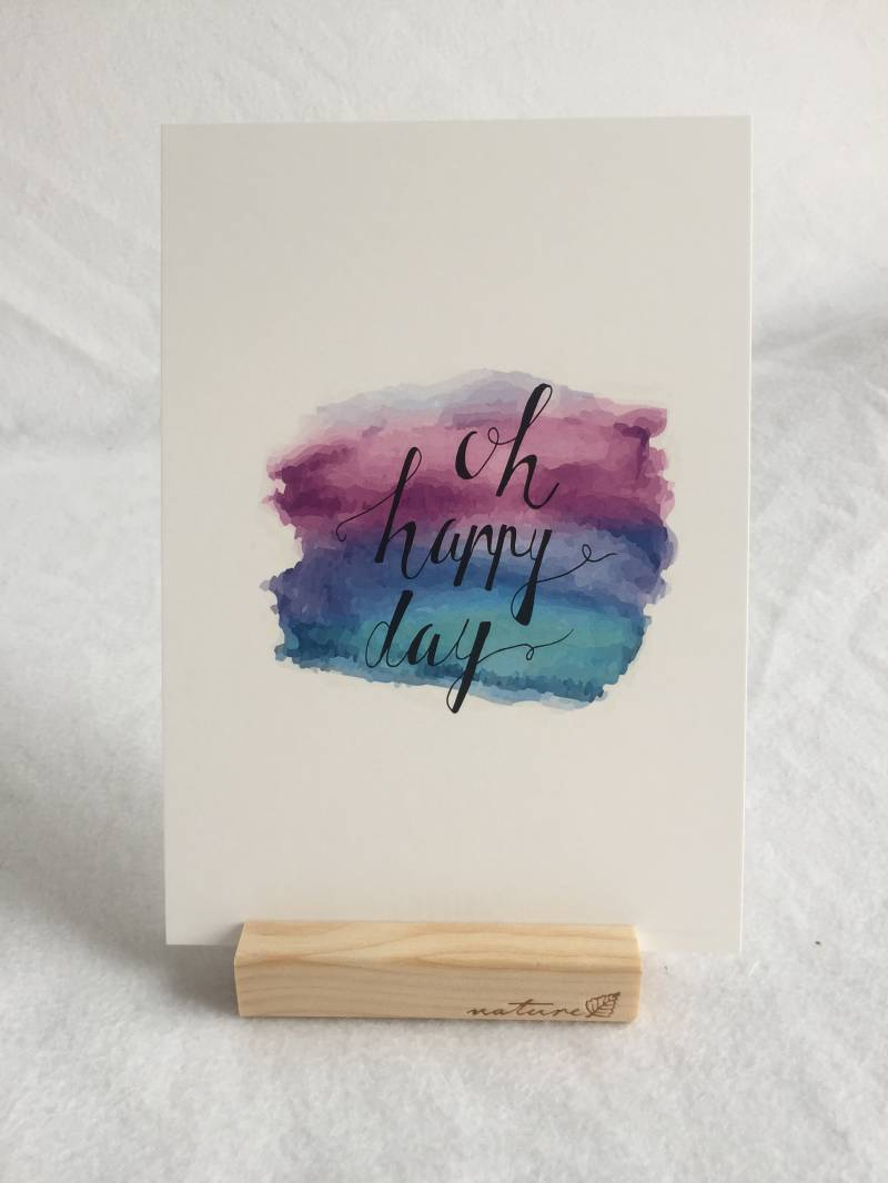 Oh Happy Day |  A5