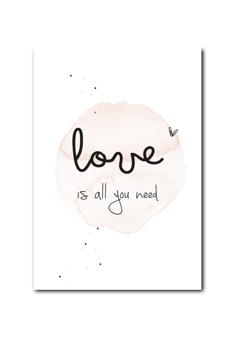 SALE  : Love is all you need