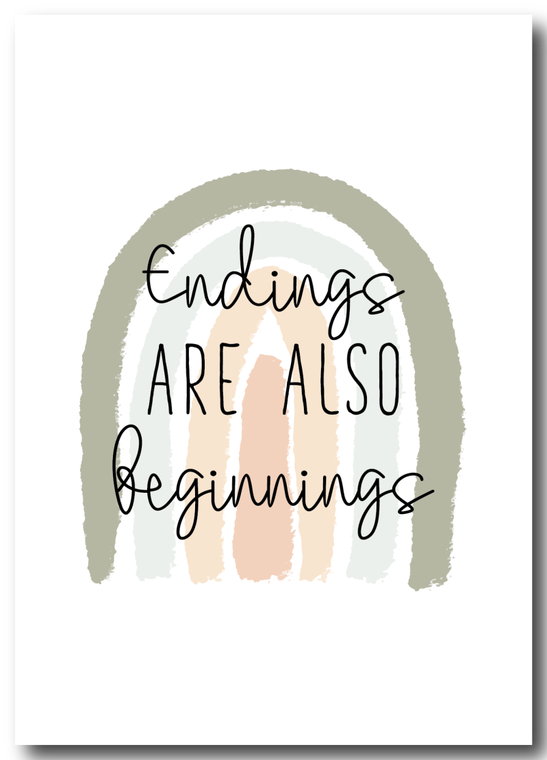 WS Q-4 : Endings are also beginnings