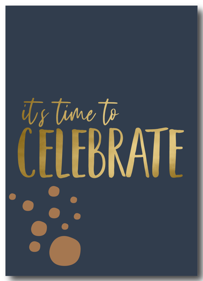 WS Q-4 : it's time to celebrate