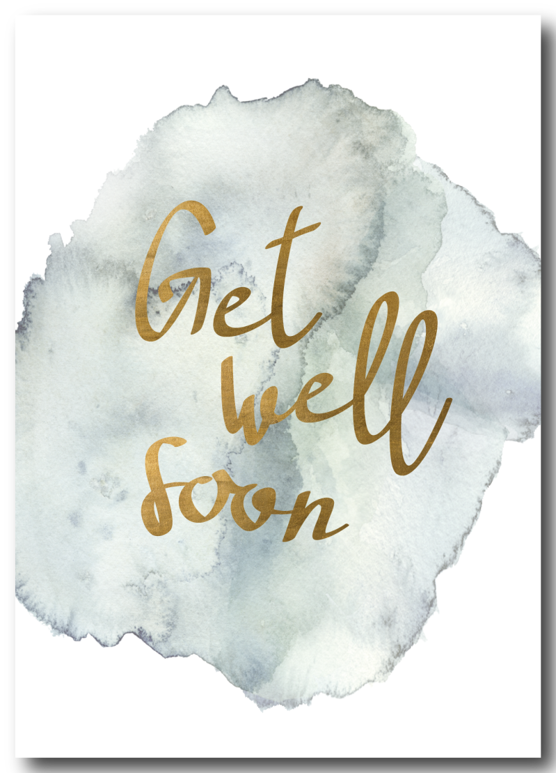 WS Q-4 : Get well soon